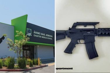 Los Angeles Authorities Found An AR-15 In A 13-Year-Old's Home After He Threatened His School