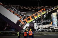 A Train Line In Mexico City Collapsed, Killing At Least 20 People