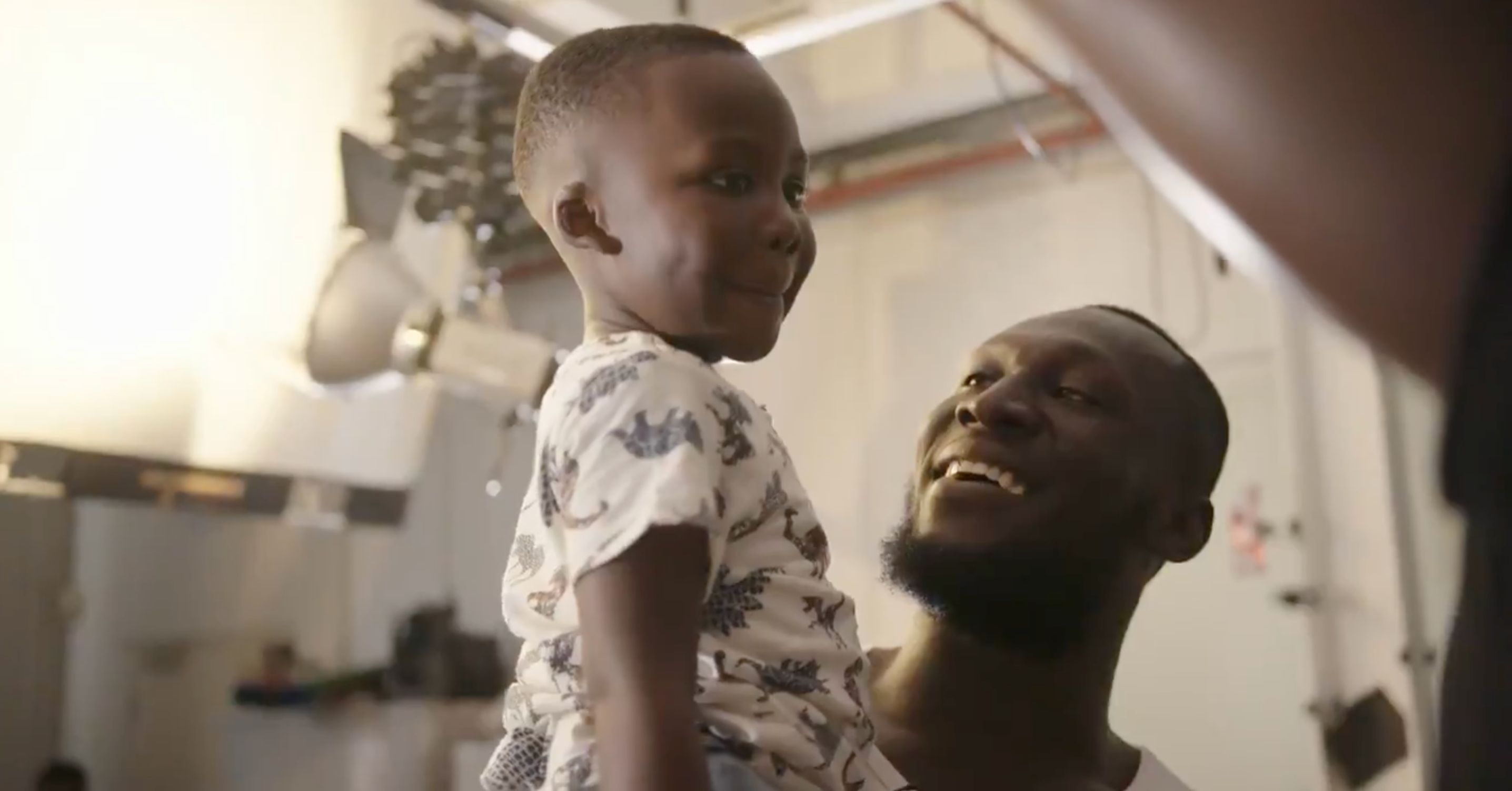 Stormzy's Nephew Can't Believe His Eyes As He Meets His Uncle's Waxwork In Adorable Video