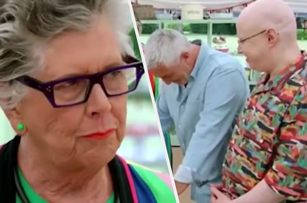 Prue Leith's 'Two Holes' Serve Up The Bake Off Innuendo Of The Series