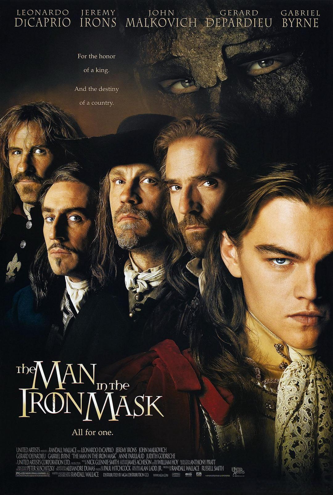 1998英国7.2分历史冒险《铁面人》BD1080p.国英双语.中英双字