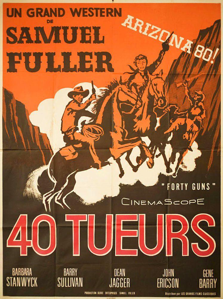 1958美国7.3分西部剧情《四十支枪》BD1080p.中英双字