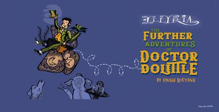 poster or flyer advertising event Open-air theatre: The Further Adventures of Dr Doolittle