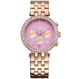JUICY COUTURE Crystal Venice Gold Stainless Steel Bracelet 1901335