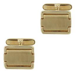 Κίτρινα Χρυσά Μανικετόκουμπα Κ14 MANK128