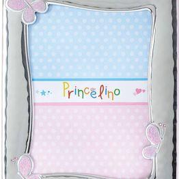 Princelino Ασημένια Παιδική Κορνίζα για Κορίτσι MB/125B-R