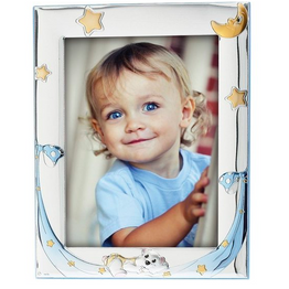 Princelino Ασημένια Παιδική Κορνίζα για Κορίτσι MA/128F-R