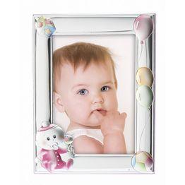 Princelino Ασημένια Παιδική Κορνίζα για Κορίτσι RMA/130D-R