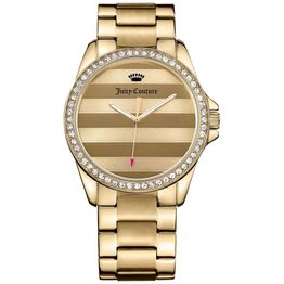 JUICY COUTURE Women's Laguna Analog Display Quartz Gold Watch 1901289