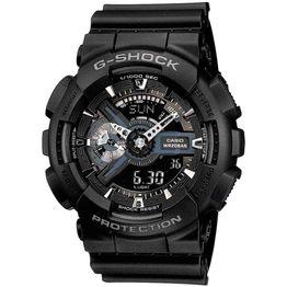 CASIO G-SHOCK Anadigi Black Rubber Strap GA-110-1BER