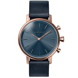 KRONABY Smart-Watch Carat Blue Leather Strap A1000-0669