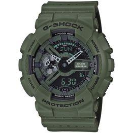 CASIO G-Shock Anadigi Dark Green Rubber Strap GA-110LP-3AER