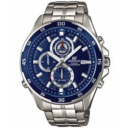CASIO EDIFICE Chronograph Silver Stainless Steel Bracelet EFR-547D-2AVUEF