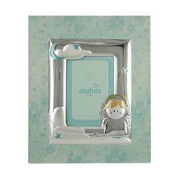 Atelier Παιδικό Χάρτινο Άλμπουμ Για Αγόρι με Λεπτομέρειες από Ασήμι LE/A451C