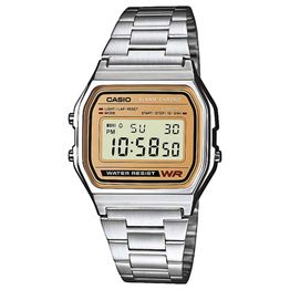 CASIO Collection Stainless Steel Bracelet A-158WEA-9EF