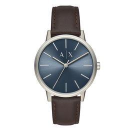ARMANI EXCHANGE Cayde Brown Leather Strap AX2704