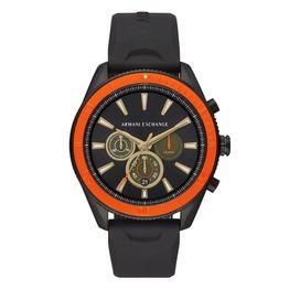 ARMANI EXCHANGE Enzo Black Rubber Chronograph AX1821
