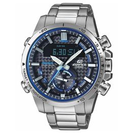 CASIO Edifice Bluetooth Solar Stainless Steel Chronograph ECB-800D-1AEF