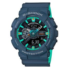 CASIO G-SHOCK Blue Rubber Strap GA-110CC-2AER