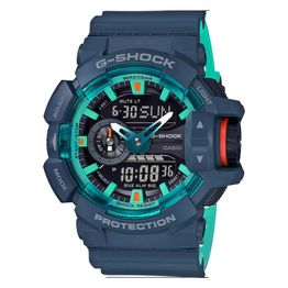 CASIO G-SHOCK Blue Rubber Strap GA-400CC-2AER