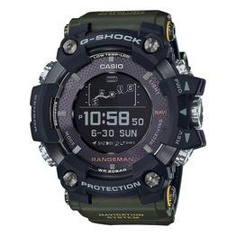 CASIO G-SHOCK Smartwatch Rangeman Green Rubber Strap GPR-B1000-1BER