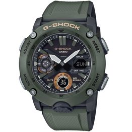 CASIO G-SHOCK Carbon Core Guard Green Rubber Strap GA-2000-3AER