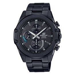 CASIO Edifice Black Stainless Steel Chronograph EFR-S567DC-1AVUEF