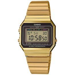 CASIO Collection Gold Stainless Steel Bracelet A-700WEG-9AEF