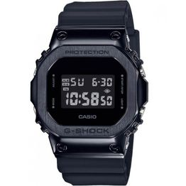 CASIO G-SHOCK Chronograph Black Rubber Strap GM-5600B-1ER