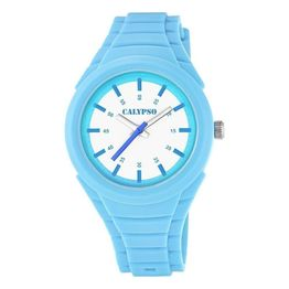 CALYPSO Kids Blue Rubber Strap K5724-3