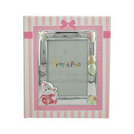 Princelino Παιδικό Άλμπουμ για Κορίτσι με Κορνίζα Aπό Ασήμι MA/A130L-R