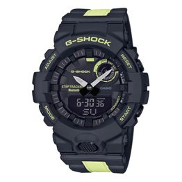 CASIO G-Shock Bluetooth Anadigi Two Tone Rubber Strap GBA-800LU-1A1ER