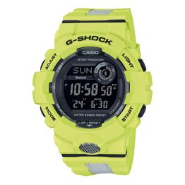 CASIO G-Shock Bluetooth Anadigi Two Tone Rubber Strap GBD-800LU-9ER