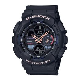 CASIO G-Shock Black Rubber Strap GMA-S140-1AER