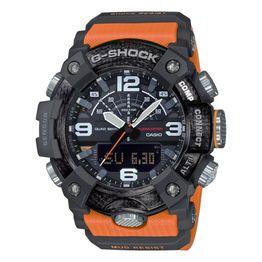 CASIO G-Shock Mudmaster Bluetooth Orange Rubber Strap GG-B100-1A9ER