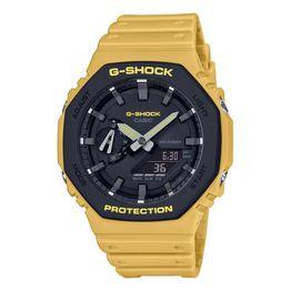 CASIO G-SHOCK Yellow Rubber Strap GA-2110SU-9AER
