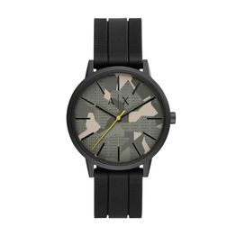 ARMANI EXCHANGE Cayde Black Rubber Strap AX2721