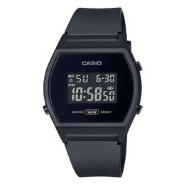 CASIO Collection Black Rubber Strap LW-204-1BEF