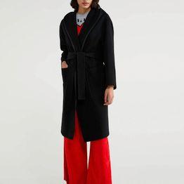 BENETTON Παλτό με κουκούλα 2EFU5K2X5 20A700