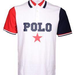 POLO RALPH LAUREN Μπλούζα Polo 710741435001 ΛΕΥΚΟ