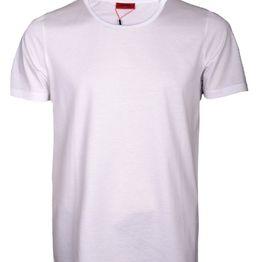 HUGO Μπλούζα T-Shirt 50415748-100 ΛΕΥΚΟ