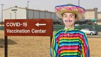 Man Disguises Self As Illegal Immigrant So Democrats Won't Care That He's Unvaccinated