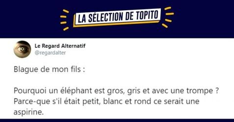 top, blagues, enfants