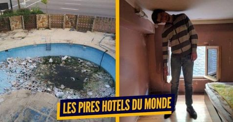 Top 15 des photos d'hôtels horribles prises par des vacanciers, on attend toujours le geste commercial