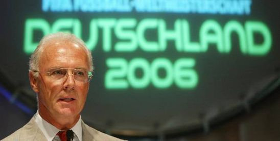 Foot - FIFA - Pas de poursuite de la FIFA contre Franz Beckenbauer sur les conditions d'attribution du Mondial 2006