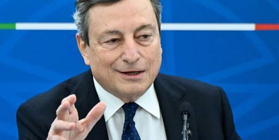 Foot - Super Ligue - ITA - Super Ligue : le premier ministre italien Mario Draghi soutient les compétitions nationales
