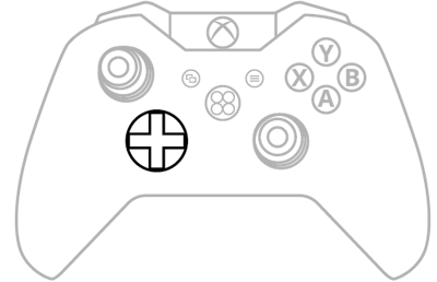 D-Pad Xbox One