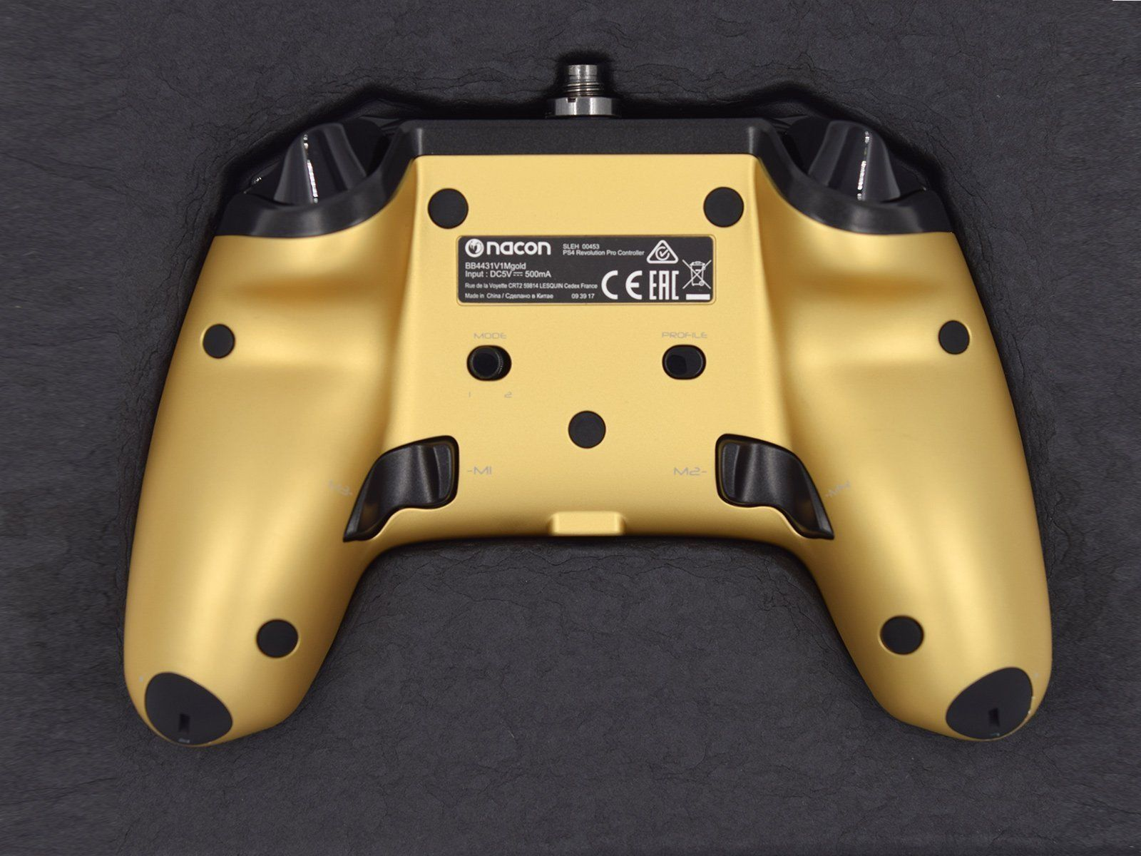 Nacon Revolution Pro Controller Back View