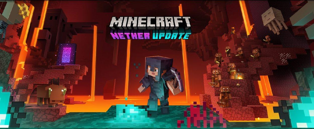 aktualizacja netheru minecraft 1.16