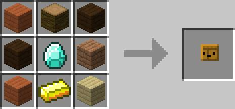 Crafting Table receptura inventory pets